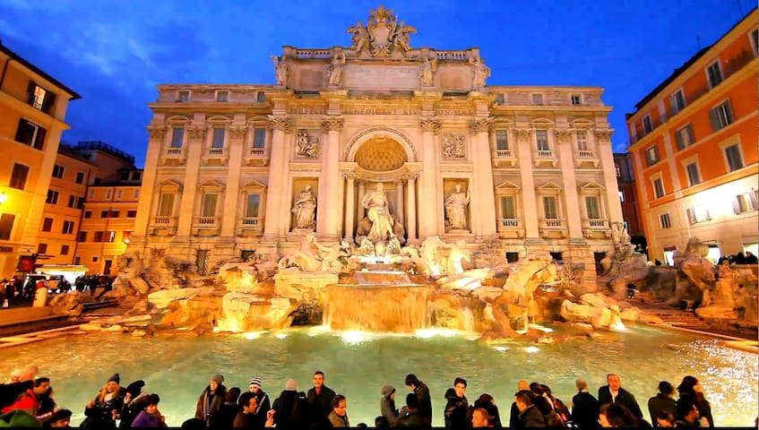 ROMANTIC APARTMENT ON TREVI FOUNTAIN