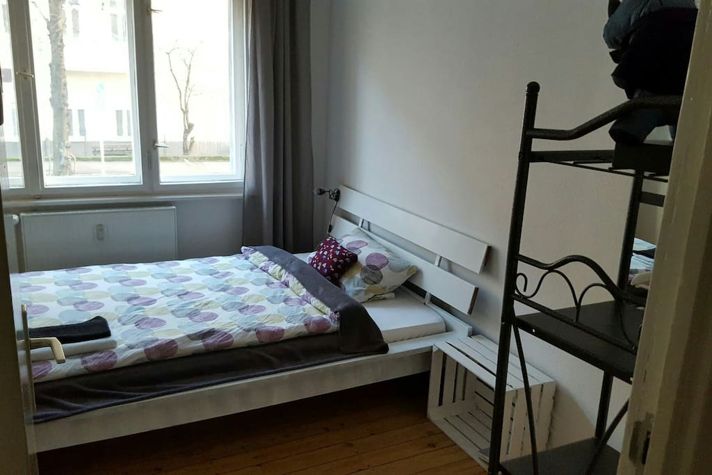 Double bed for cozy nights