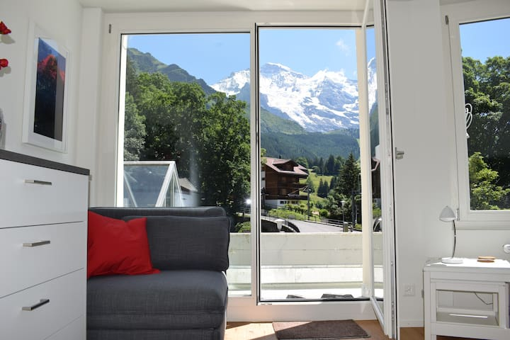 Apartment Eigerpeak with balcony and Jungfrau view