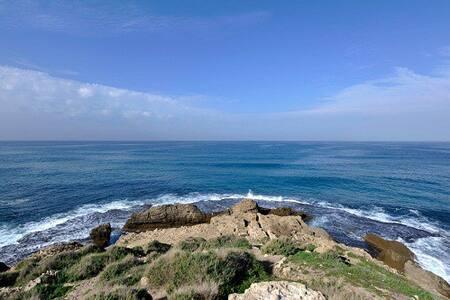 STUDIO GINAT EDEN NEAR THE BEACH - Nahsholim - Huoneisto