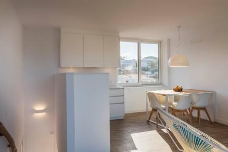 Apartamento dúplex de 2 habitaciones vista mar - Es Canutells - Condominium