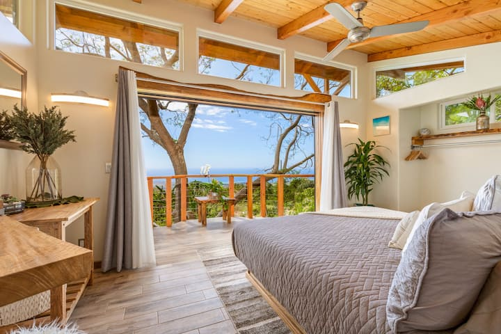 Kona's 1st Luxury 1 BR/1B Treehouse w/ Ocean View