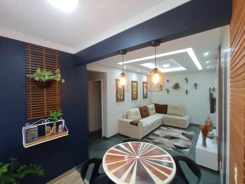 Apartamento lindo e  aconchegante no coração de Cascavel, próximo de tudo.