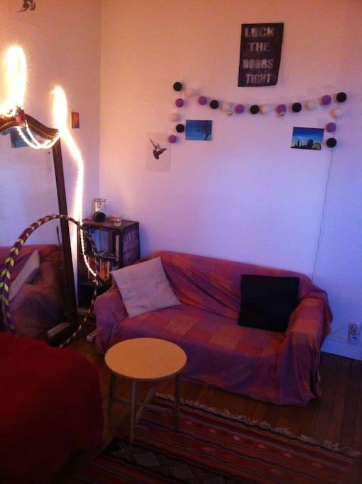 Living room / single bedroom