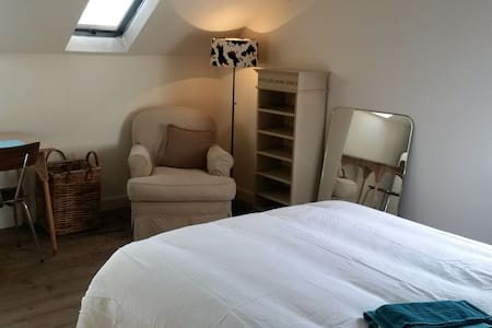 Small cosy room - private bathroom - free parking - Eppegem - Διαμέρισμα