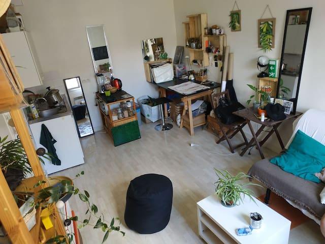 Studio en centre ville de Nantes BOUFFAY