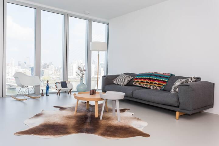 Amazing design apt De Rotterdam - Roterdão - Apartamento