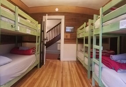 """Upper Bunk"" in Mixed Dorm at Smoky Mt. Hostel"