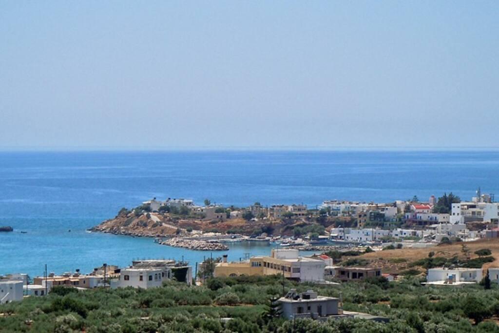 Makrigialos sea view