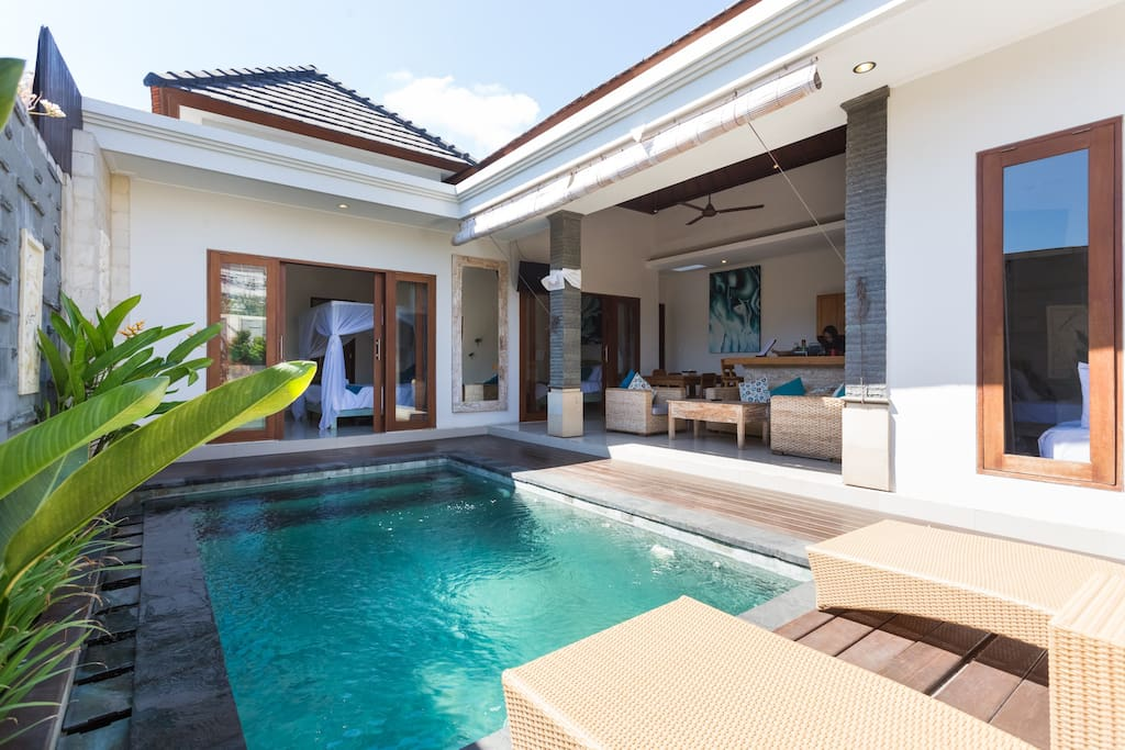Bedroom Villas Bali Kuta