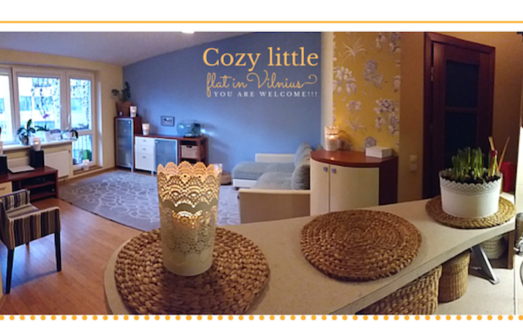 Cozy, studio type little flat. - Vilnius - Daire