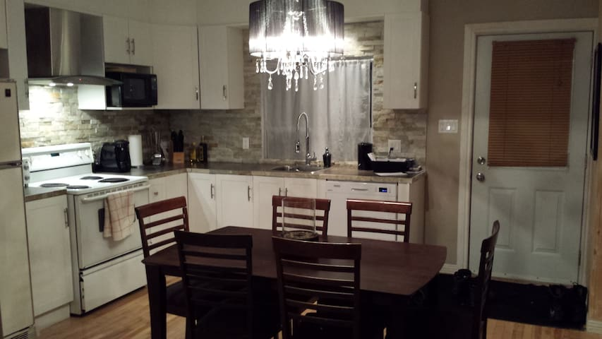 welcoming and spacious appartment 2 rooms - Trois-Rivières - Apartment