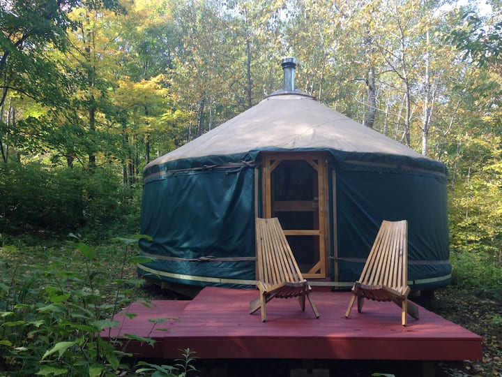 Fiddlehead Farm Yurt