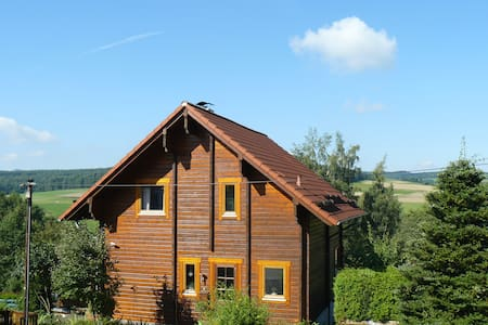 Ferienhaus Berg.erleben-Rhön (ganzes Haus o. Fewo) - Hilders - House