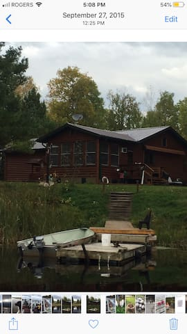 cottage on little grassy river lake of the woods