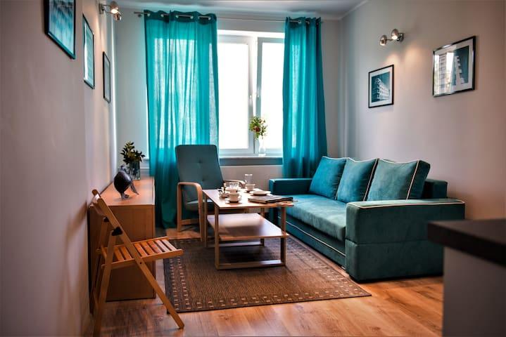 GDYŃSKI MODERNIZM- Apartament w centrum miasta