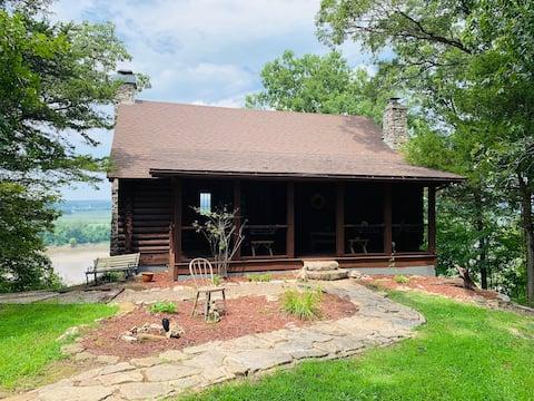 Celestial Log Cabin on the Confluence