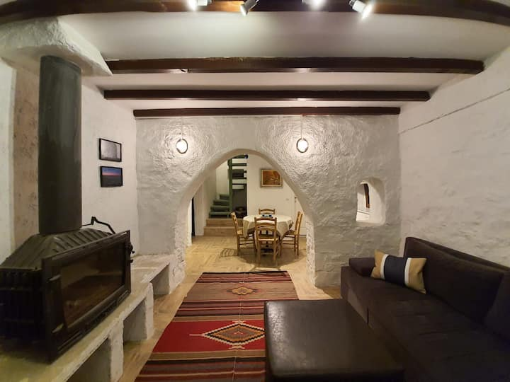 4 + 1 Beachfront Stone House in Gumbet/Bodrum