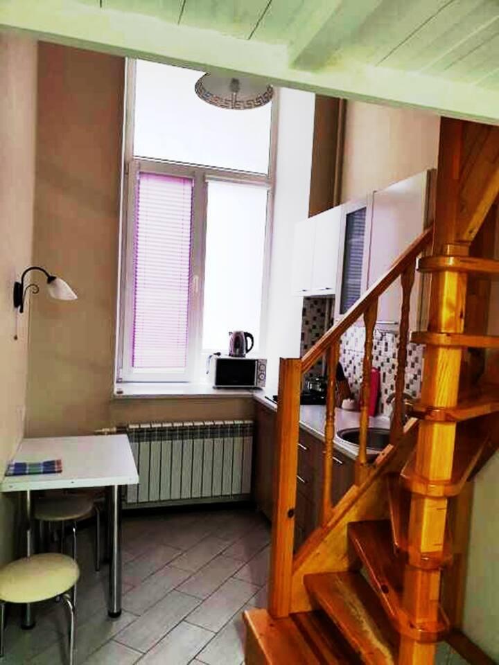 Изолированный лофт в сердце Ростова на 1 этаже