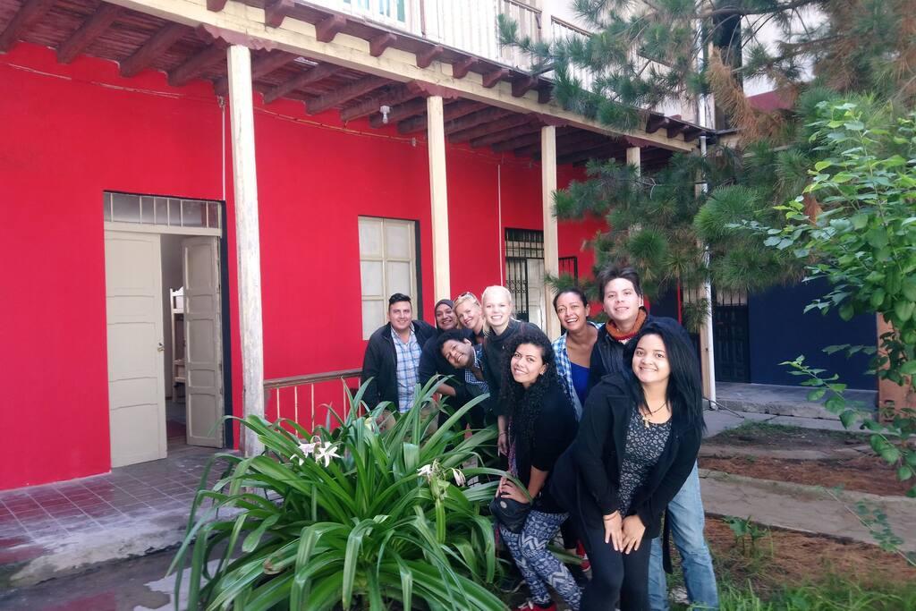 Turistas de Old House