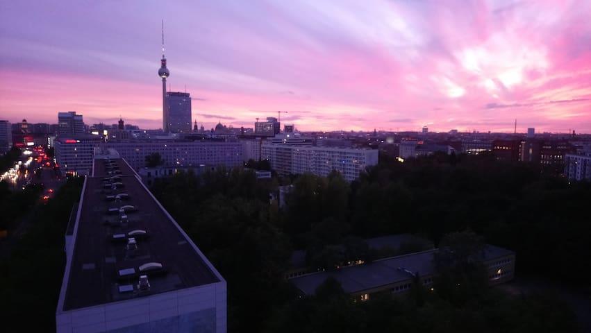 Privatzimmer am Alex - Bester Ausblick Berlins