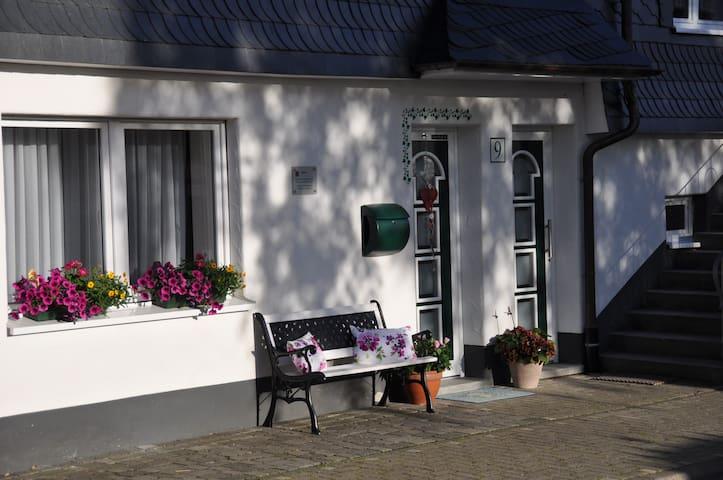 Schöne FeWo in der Dorfmitte Fleckenberg - Schmallenberg - Apartment
