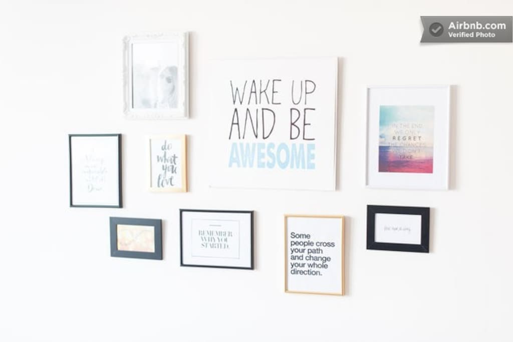 Motivation Wall, in case you need it :)