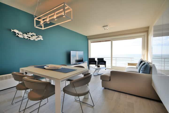 Appartement met prachtig zeezicht