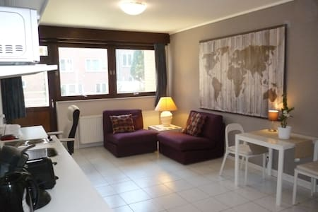flat Erasmus: Heizel, Expo, UZVUB - Appartamento
