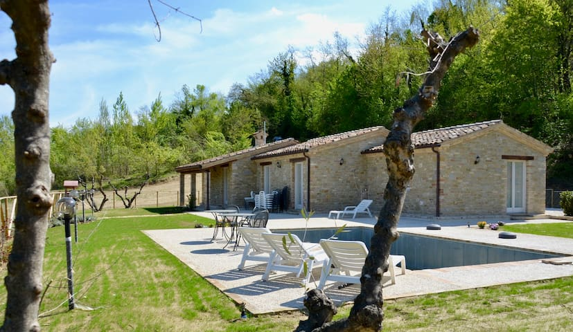 Beautiful Villa with private pool - San Martino Al Faggio - วิลล่า