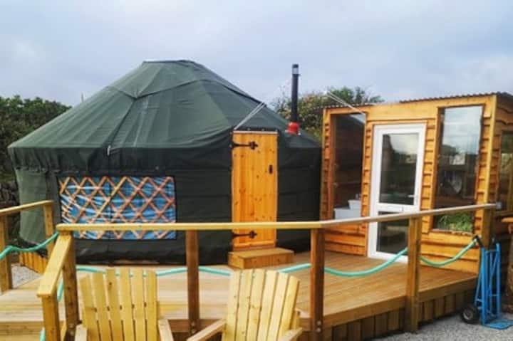 Badger's Hollow Yurt, Beare's Den Campsite