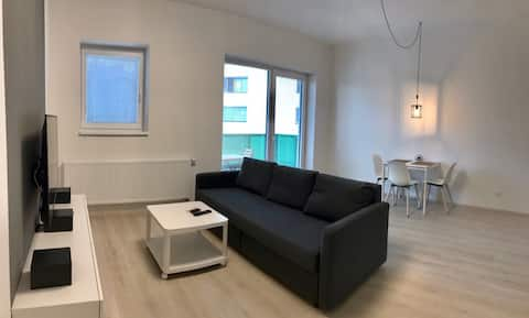 Nice flat with parking close to city center