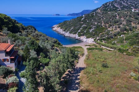 Aparktion, Between Green Wild Nature and Blue Sea! - Alonnisos