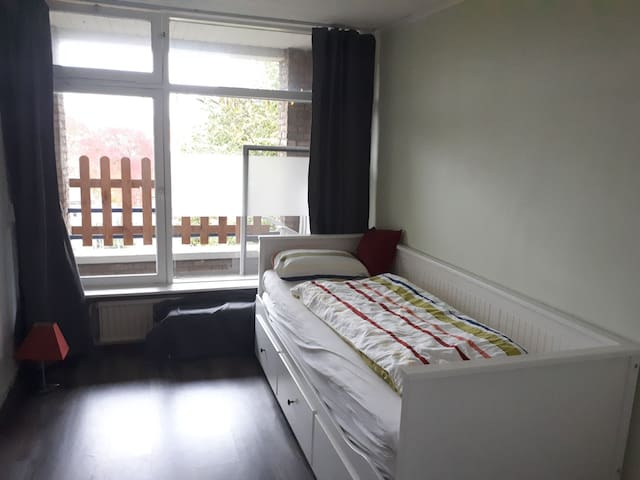 Cosy room near Tilburg University and Westermarket