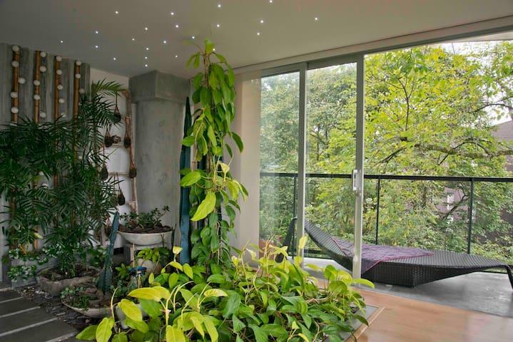 Beautiful room in an amazing zen loft