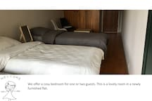 Newly furnished room with hotel level standards