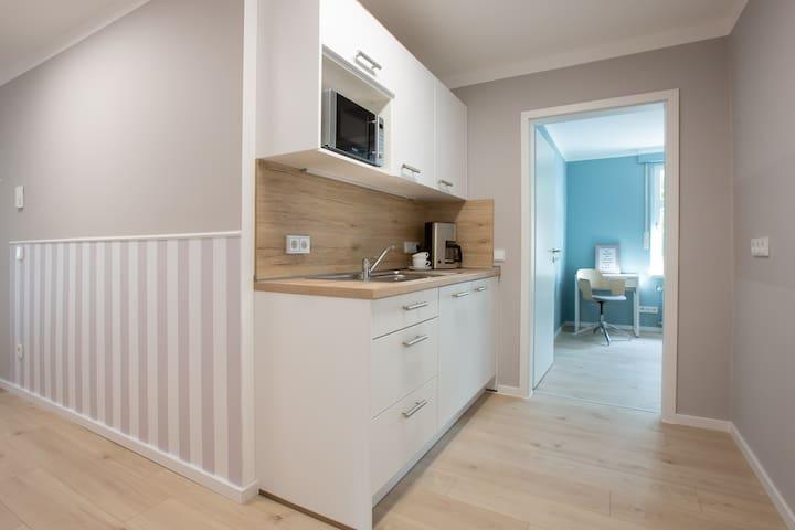 """FEWO """"Heide"""" : 2 Schlafzimmer, eine Pantry-Küche"""