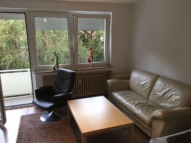 Top eingerichtetes Einzimmerappartement in Krefeld