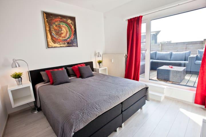 Lovely apartment Antwerp near Centre&EXPO+parking - Antwerpen - Condominio