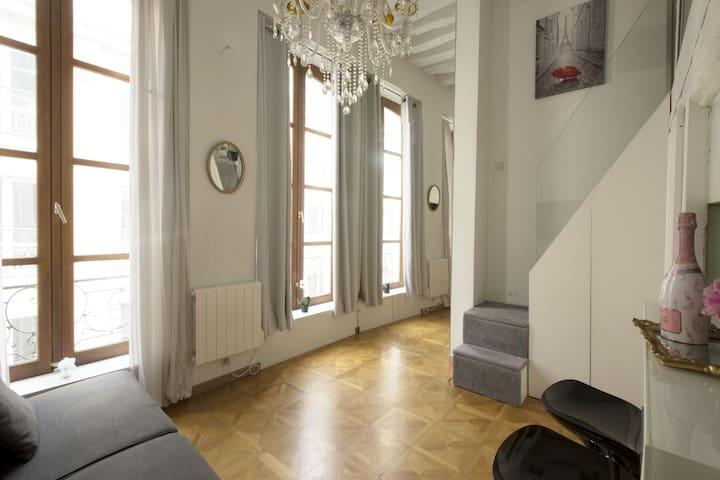 Luxurious & Trendy Flat near Place des Victoires !