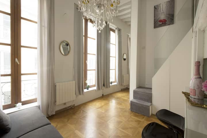 Luxurious & Trendy Flat near Place des Victoires !