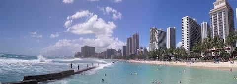Waikiki Apt - Location!!! Free Wi-fi and parking