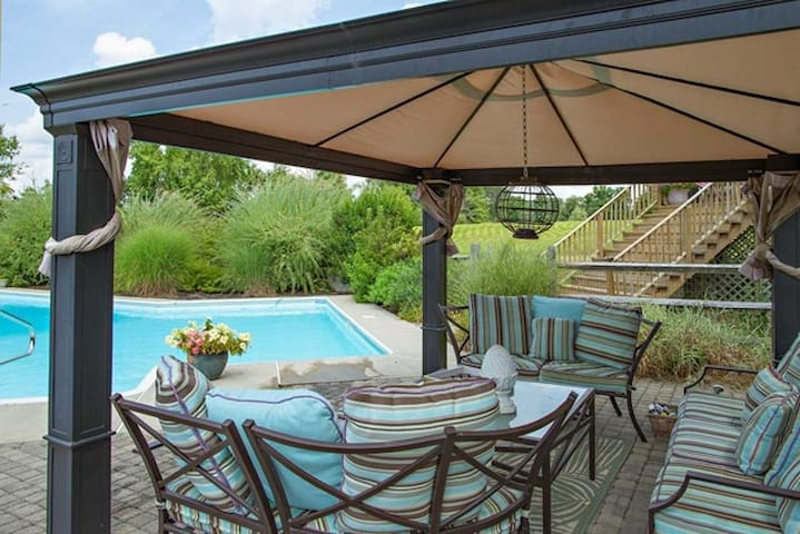Stunning Home-Resort Pool Area*View - Lagrangeville - Hus