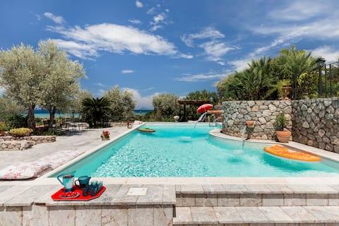Sicily Authentic Vibration  Eighteenth-Century Farm with Panoramic Sea Views