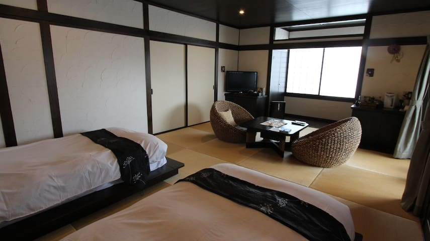 Huge special room with private onsen ~Cosmos~