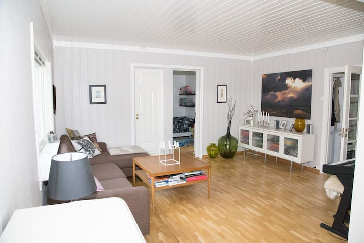 House with garden & car 10 mins from Oslo