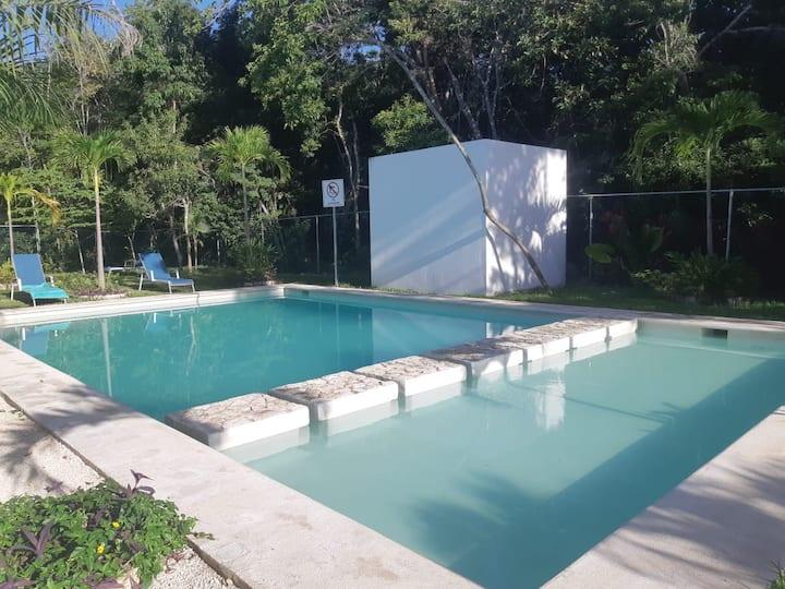 """Maison """"Mer et Soleil"""" à Puerto Morelos (Caraïbes)"""