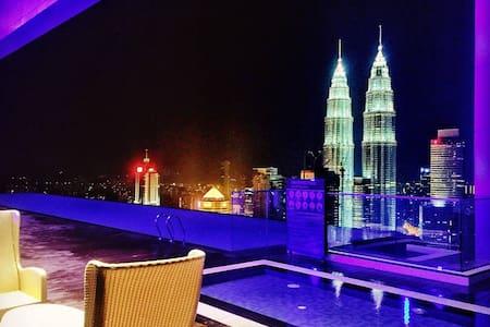 Sky Pool,Premium KLCC room - Kuala Lumpur - Lejlighed