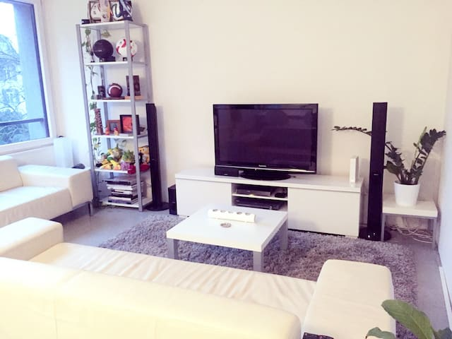 Bright, modern apartment in a great location!