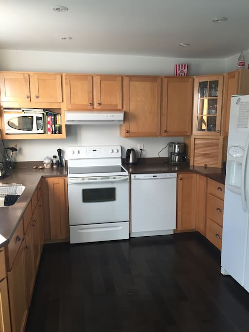 Kitchen area with all the amenities